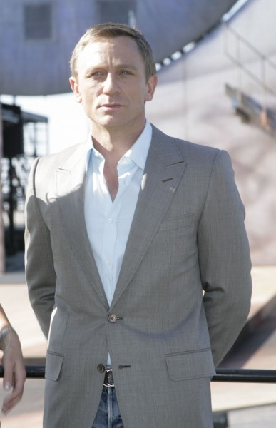 This Charming Gray Suit Is Taken From Successful James Bond