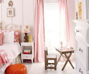 bedroom, girly, and pink image