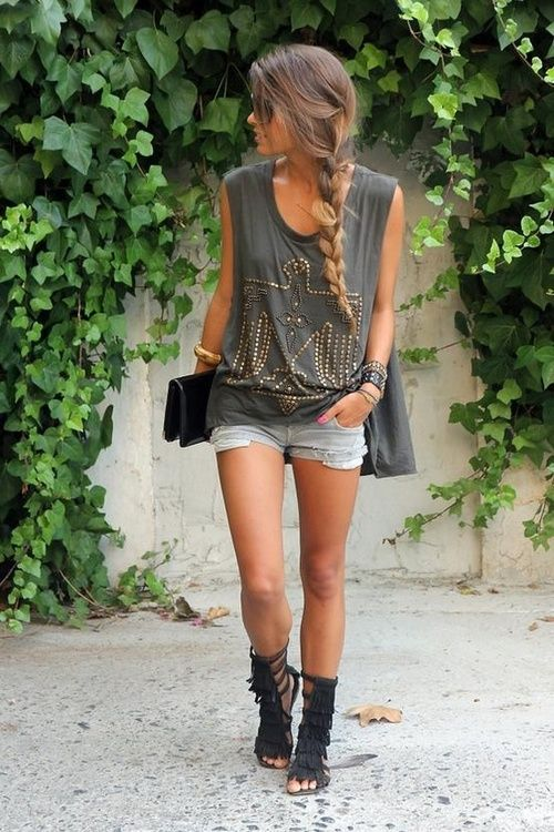0d795b120 braided & studded... Love the sandals! I think I ... | ....Clothes....