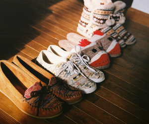 shoes, vintage, and moccasins image