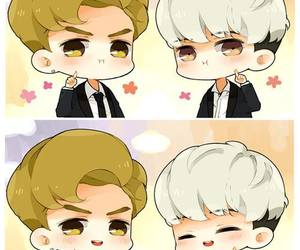 fanart, exo-k, and kris image