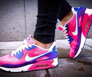 air max, nike, and girly image