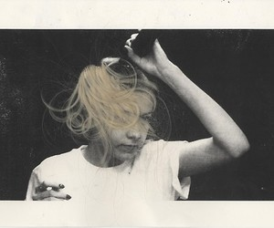 Collage, hair, and photography image