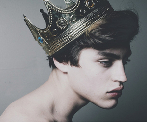 boy, crown, and guy image