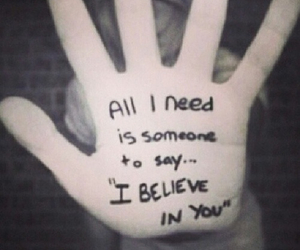 believe, fingers, and need image