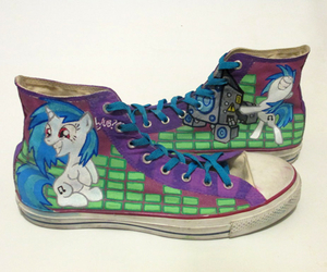 converses, mlp fim, and custome image