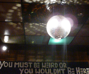 disco ball, disco lights, and fort worth image