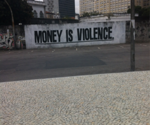 money and violence image