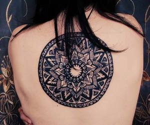 alternative, tattoo, and tribal image