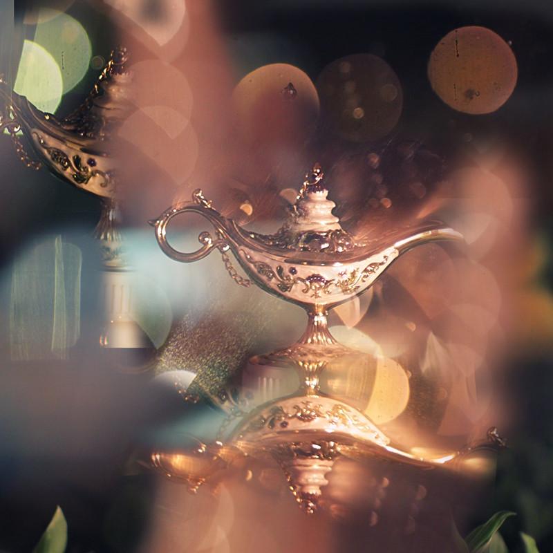 aladdin, lamp, and magic image