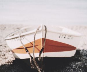 boat, header, and orange image