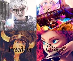 brave, Dream, and freedom image