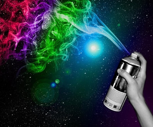colours, galaxy, and amazing image