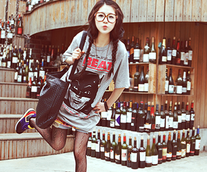fashion, ulzzang, and l♥♥♥~~ image