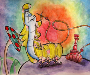 alice in wonderland, art, and be free image