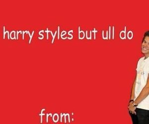 Harry Styles, valentine, and one direction image