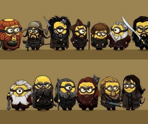 minions and dwarf image