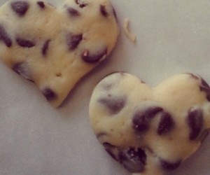 Cookies, heart, and valentines day image