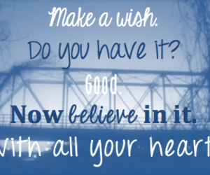 wish, one tree hill, and quote image