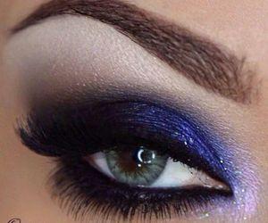 make up, fashion, and makeup image