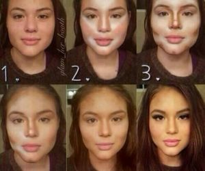 makeup tutorials, girl, and pretty image