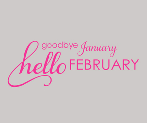 february, good, and hello image