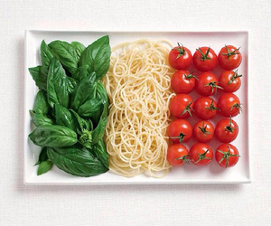 food, italy, and flag image