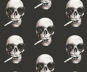 skulls and backgrounds image