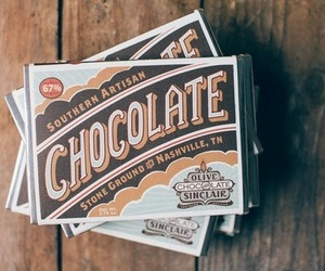 chocolate, vintage, and food image