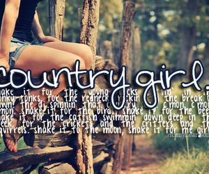 country, girl, and country girl image