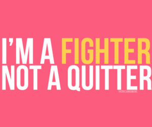 quote, fighter, and fitness image