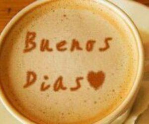 buenos días and love image