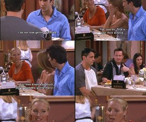 friends, ross, and phoebe image