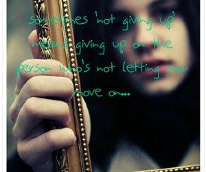 girl, mirror, and sad image
