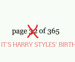 Harry Styles and birthday image