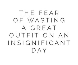 outfit, quotes, and fear image