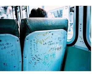 art, bus, and indie image