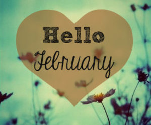 february, flowers, and valentine image