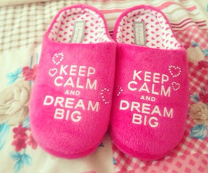 pink and keep calm image