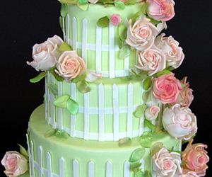 cake, cakes, and green image