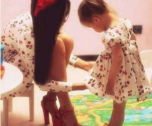 baby, dress, and kid image