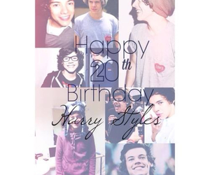 birthday, harry, and styles image