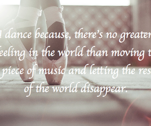 dance, quote, and ballet image