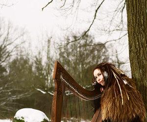 omnia, folk, and harp image
