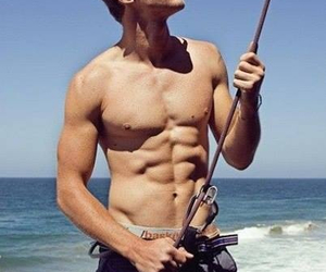 abs, fish, and Hot image