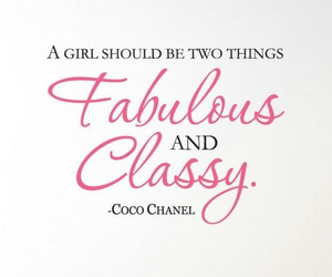 classy, chanel, and quotes image