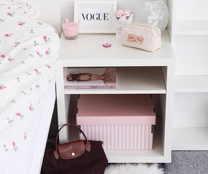 pink, room, and vogue image