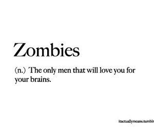 zombies, love, and brain image
