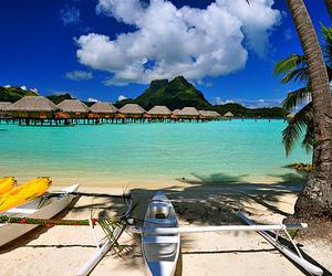 beach, water, and beautiful image