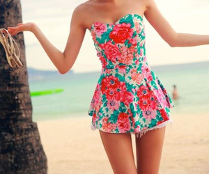 fashion, floral, and inspiration image